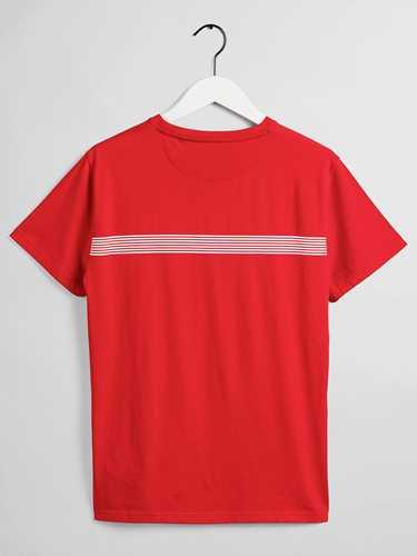 Picture of GANT | Men's Stripe Logo T-Shirt