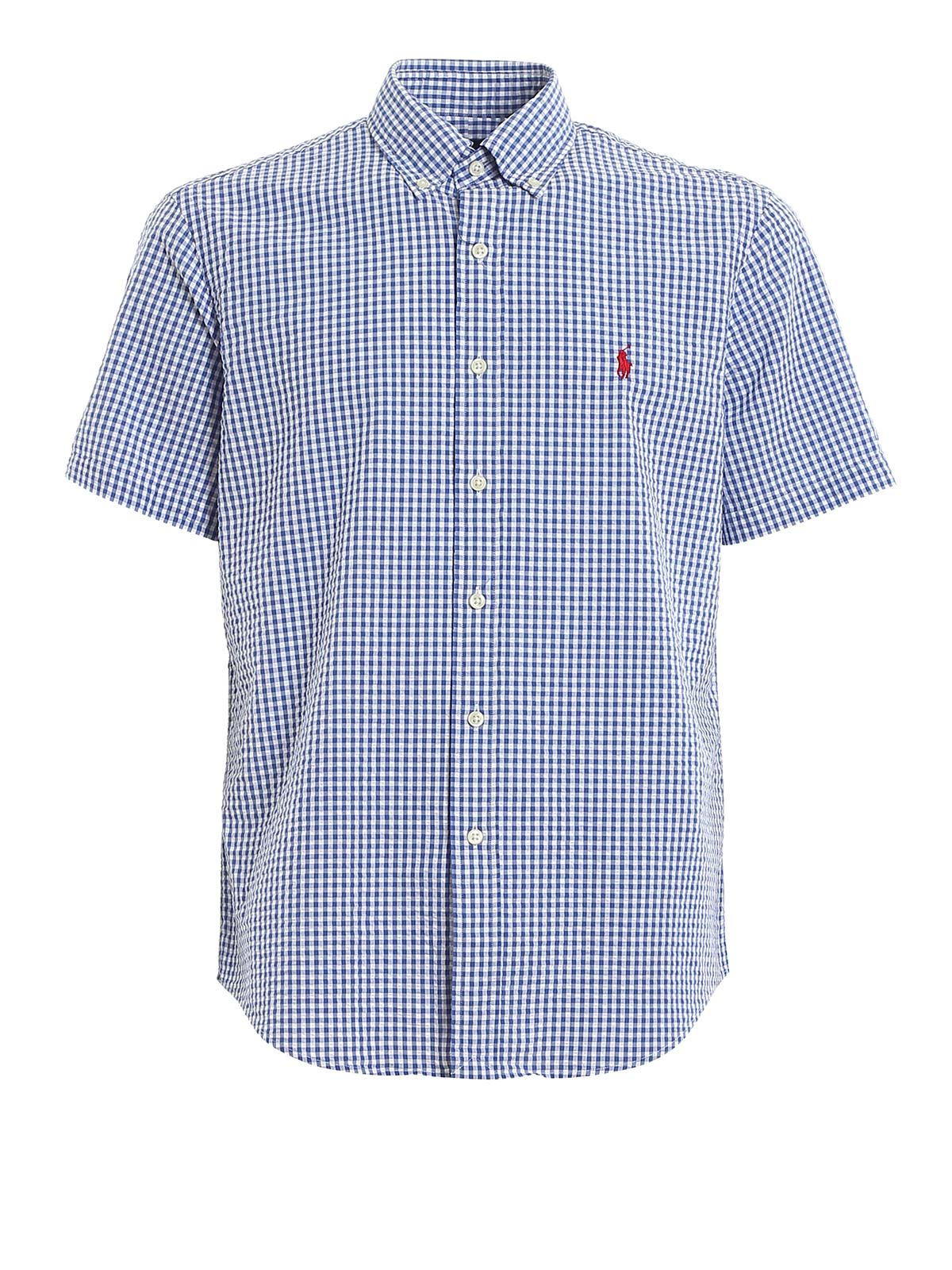 Picture of POLO RALPH LAUREN | Men's Check Short Sleeve Shirt