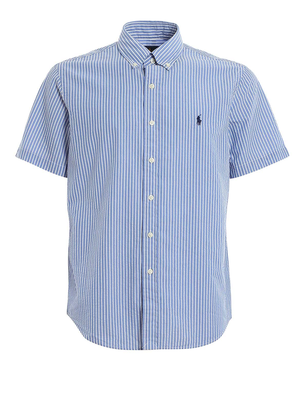 Picture of POLO RALPH LAUREN | Men's Striped Short Sleeve Shirt