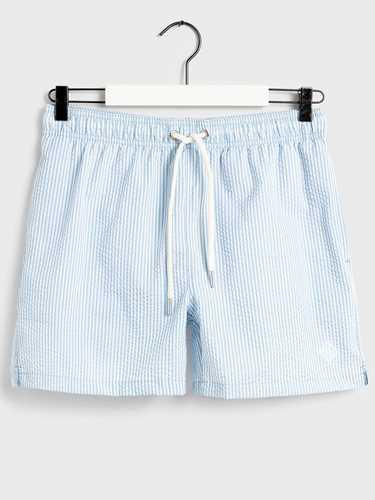 Immagine di Gant   Swim  Suit Seersucker Swim Shorts Cf