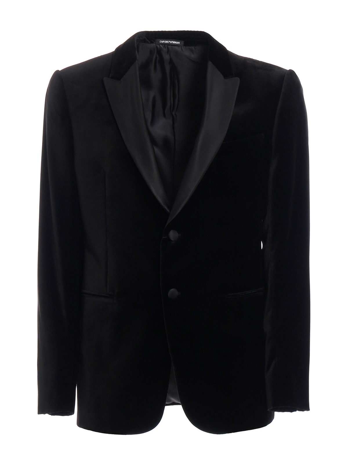 Picture of EMPORIO ARMANI | Men's Velvet Blazer