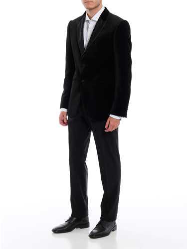 Picture of EMPORIO ARMANI | Men's Velvet Blazer