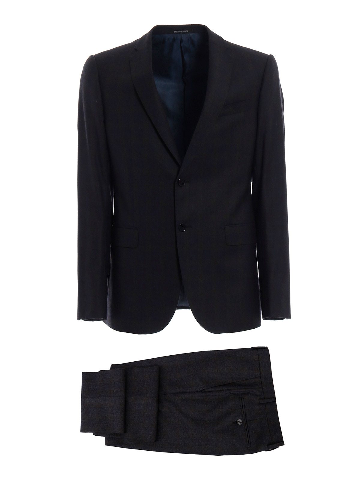 Picture of EMPORIO ARMANI | Men's Wool Check Suit