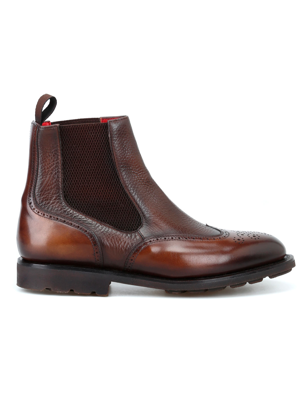 Picture of BARRETT | Men's Smooth Leather Booties