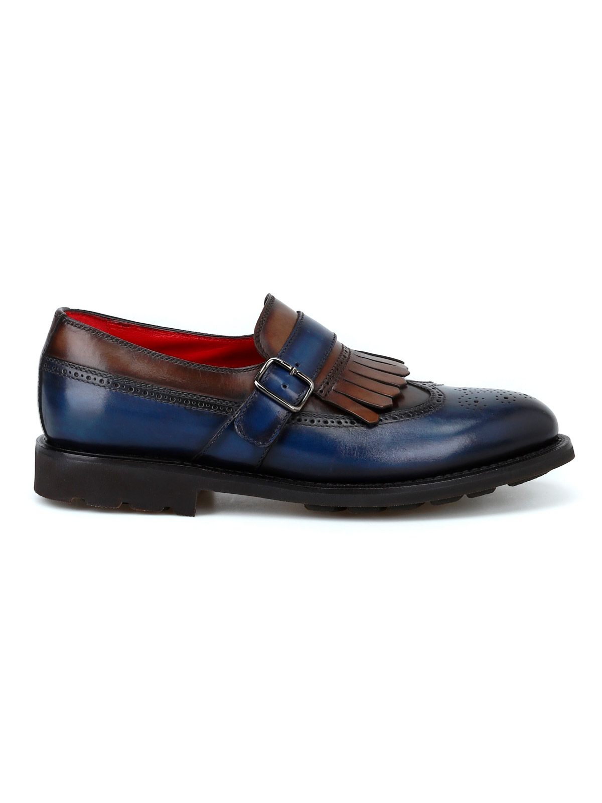 Picture of BARRETT | Men's Leather Monk Strap