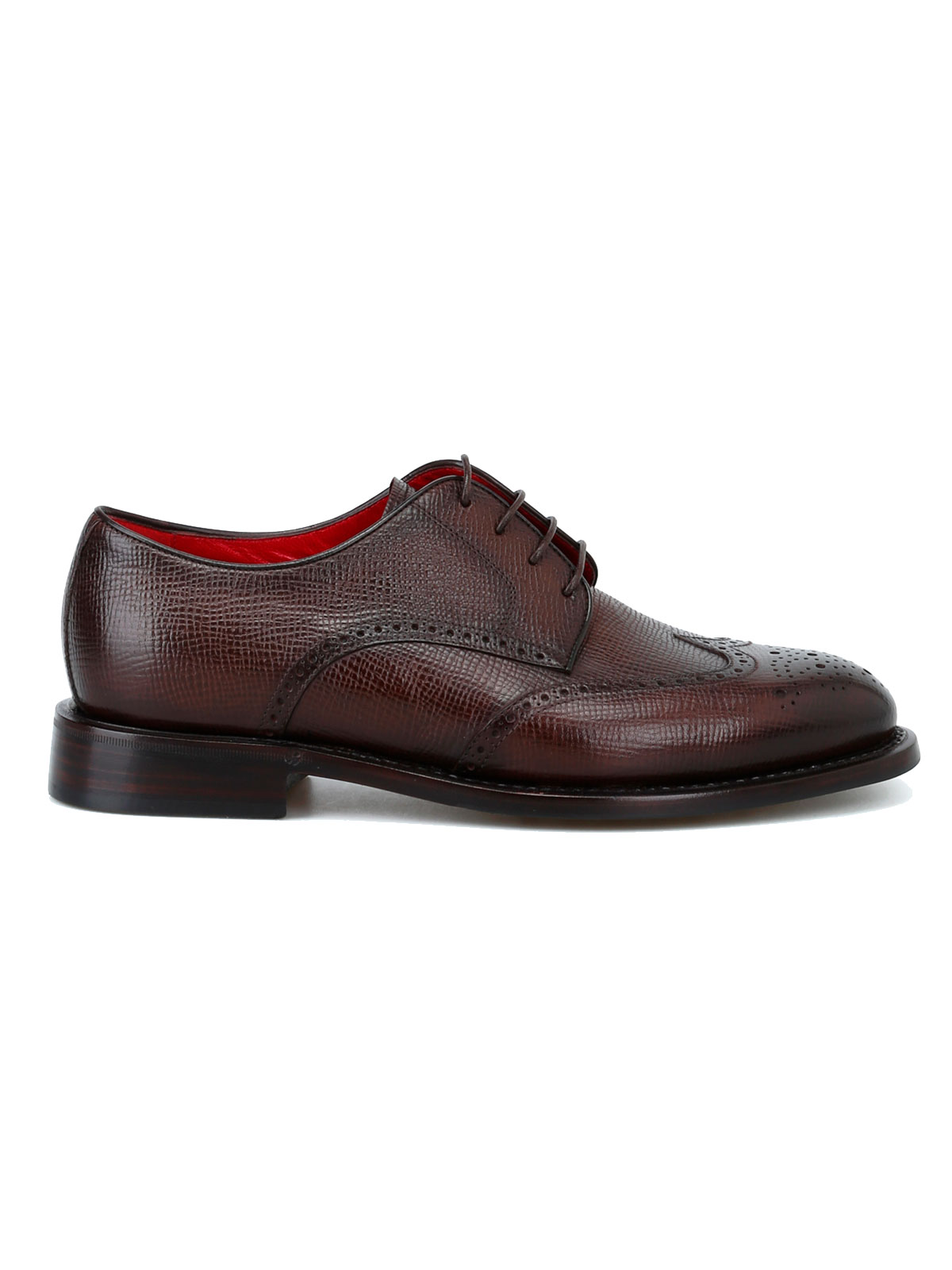Picture of BARRETT | Men's Textured Leather Derby