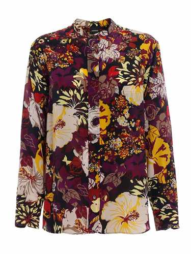 Picture of ASPESI | Women's Printed Silk Shirt