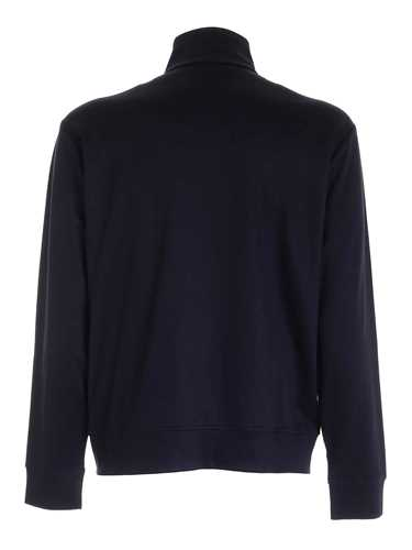 Picture of EMPORIO ARMANI | Men's Full Zip Viscose Sweatshirt