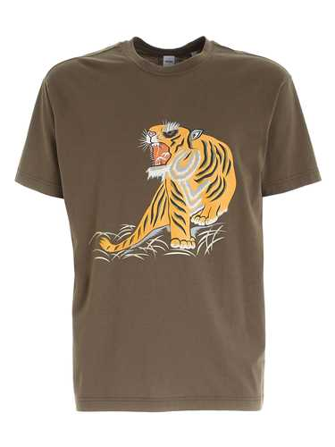 Picture of ASPESI | Men's Tiger Print T-shirt