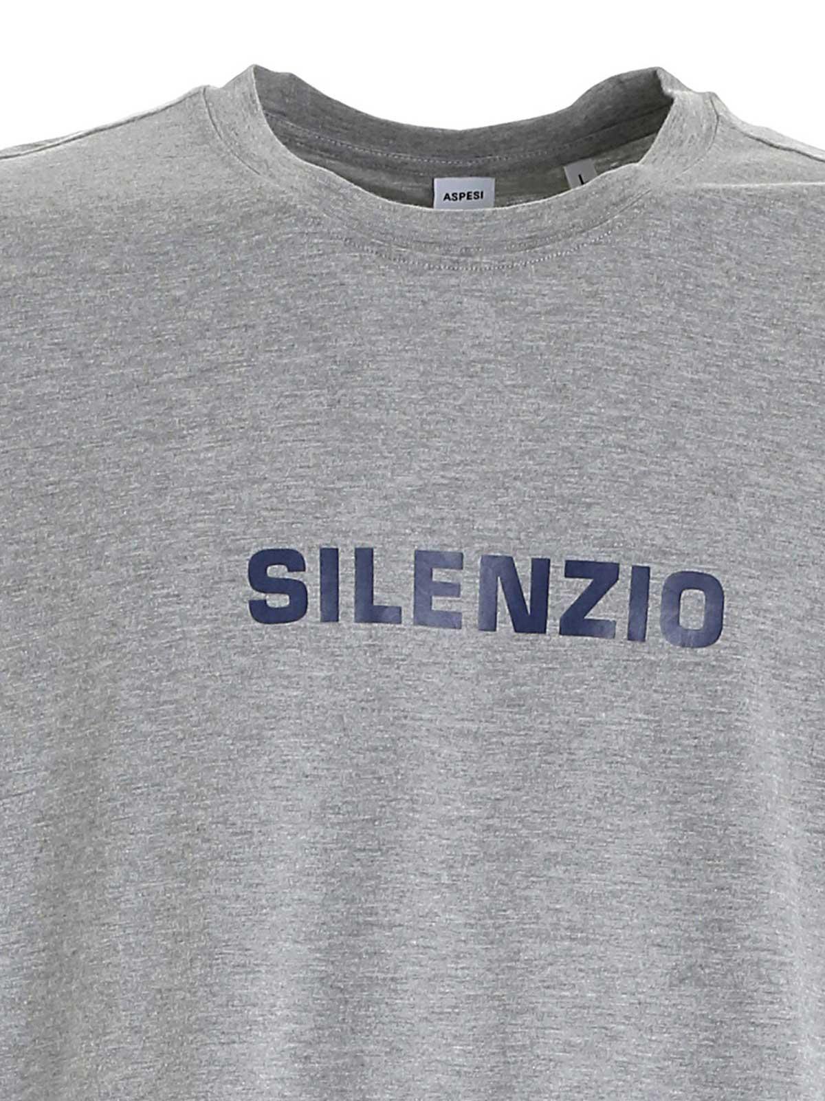 Immagine di ASPESI | T-shirt Uomo Silenzio