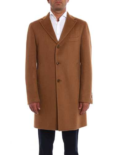 Picture of TAGLIATORE | Men's Camel Coat