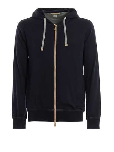 Picture of ELEVENTY | Men's Jersey Hoodie with Zip
