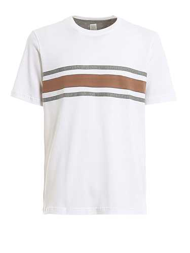 Picture of ELEVENTY | Men's Striped Cotton T-Shirt