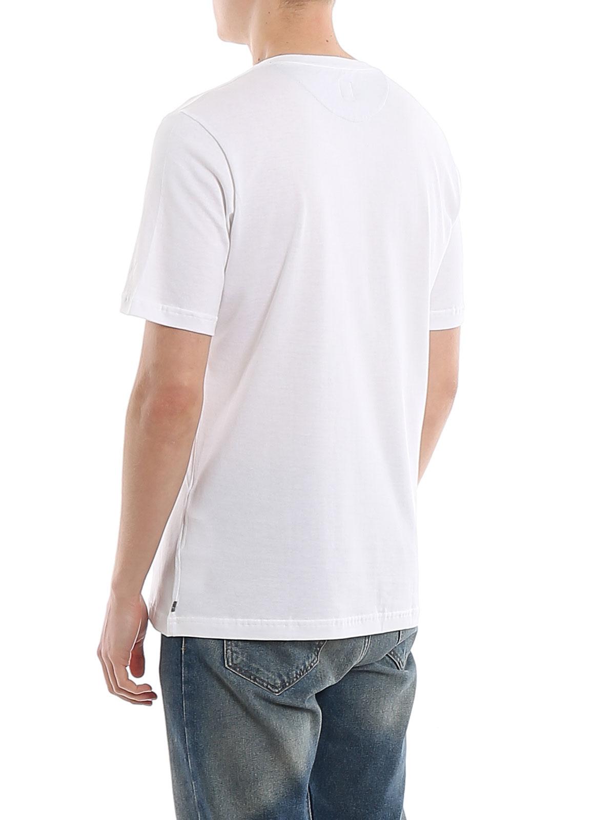 Picture of ELEVENTY | Men's Striped Cotton T-Shirt