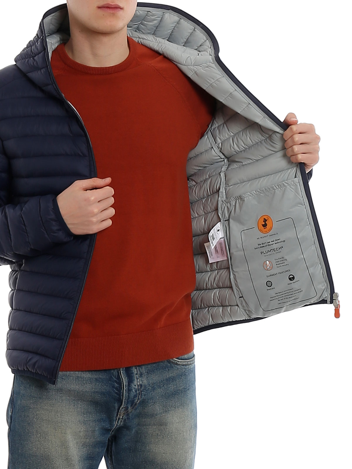 Picture of SAVE THE DUCK | Men's Hooded Padded Jacket