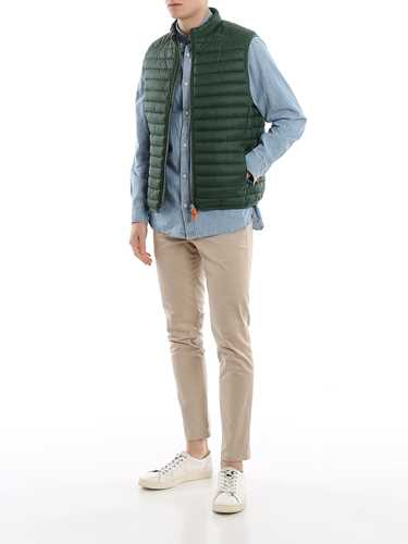 Picture of SAVE THE DUCK | Men's Nylon Padded Vest