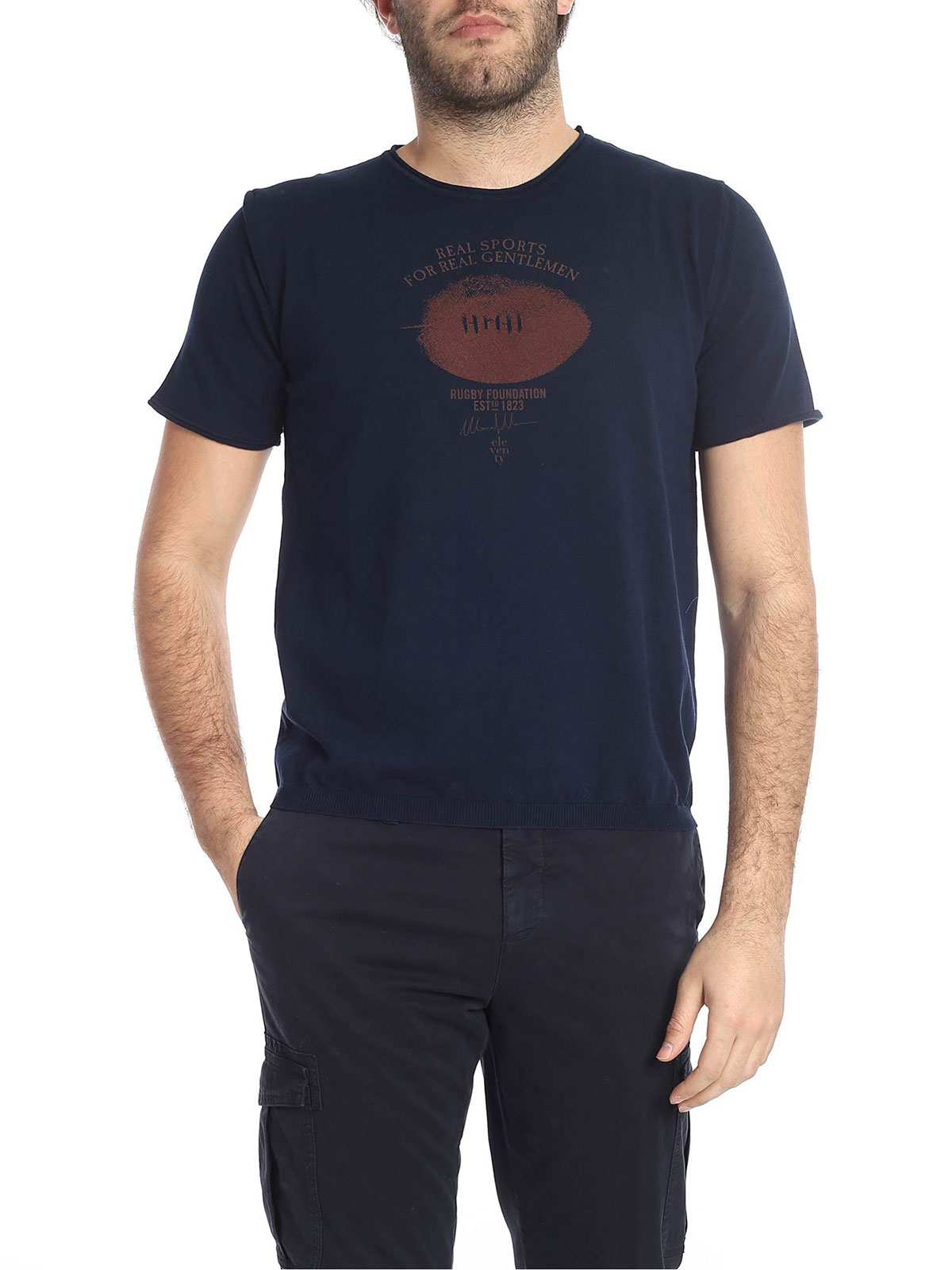 Picture of ELEVENTY | Men's Printed T-Shirt