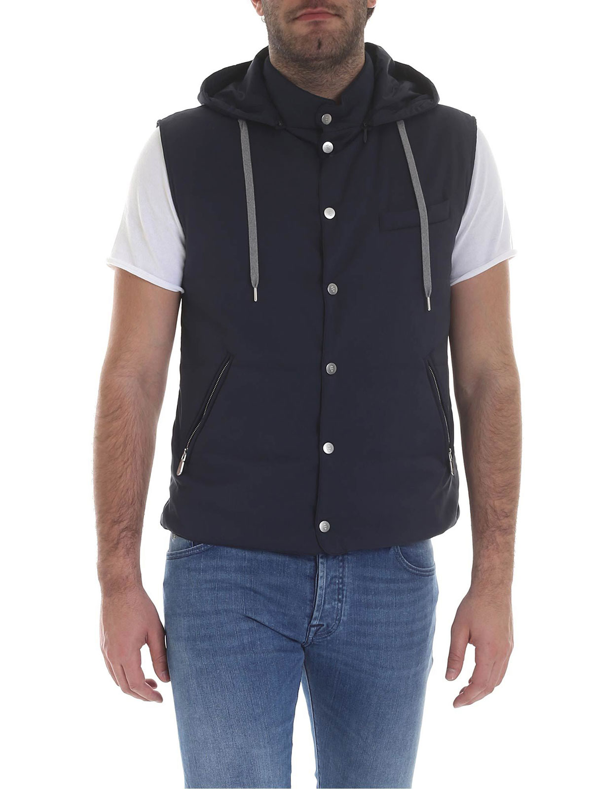 Picture of ELEVENTY | Men's Hooded Vest