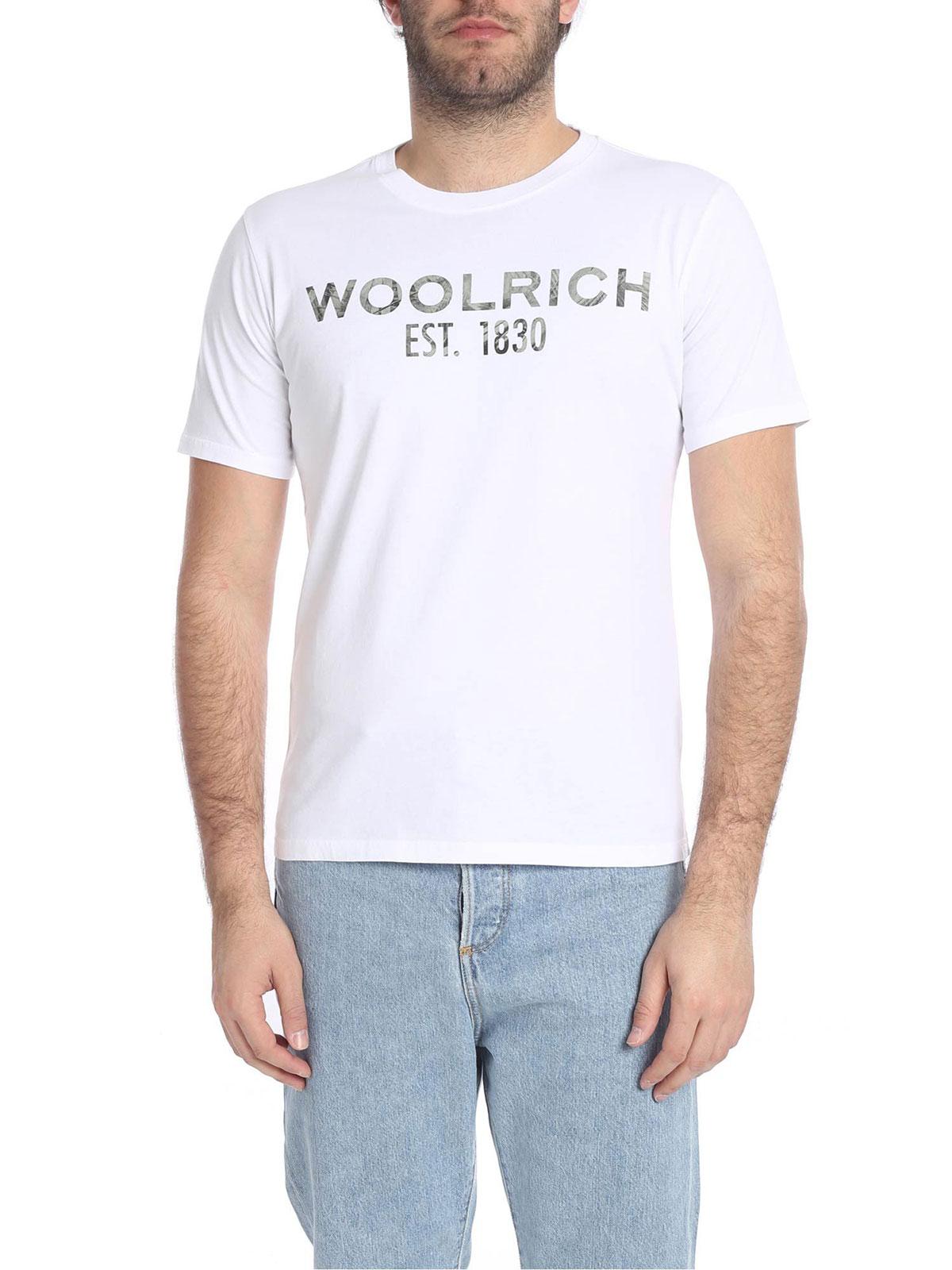 Picture of WOOLRICH | Men's Cotton T-Shirt