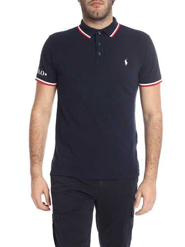 Picture of POLO RALPH LAUREN | Men's Bordered Polo Shirt