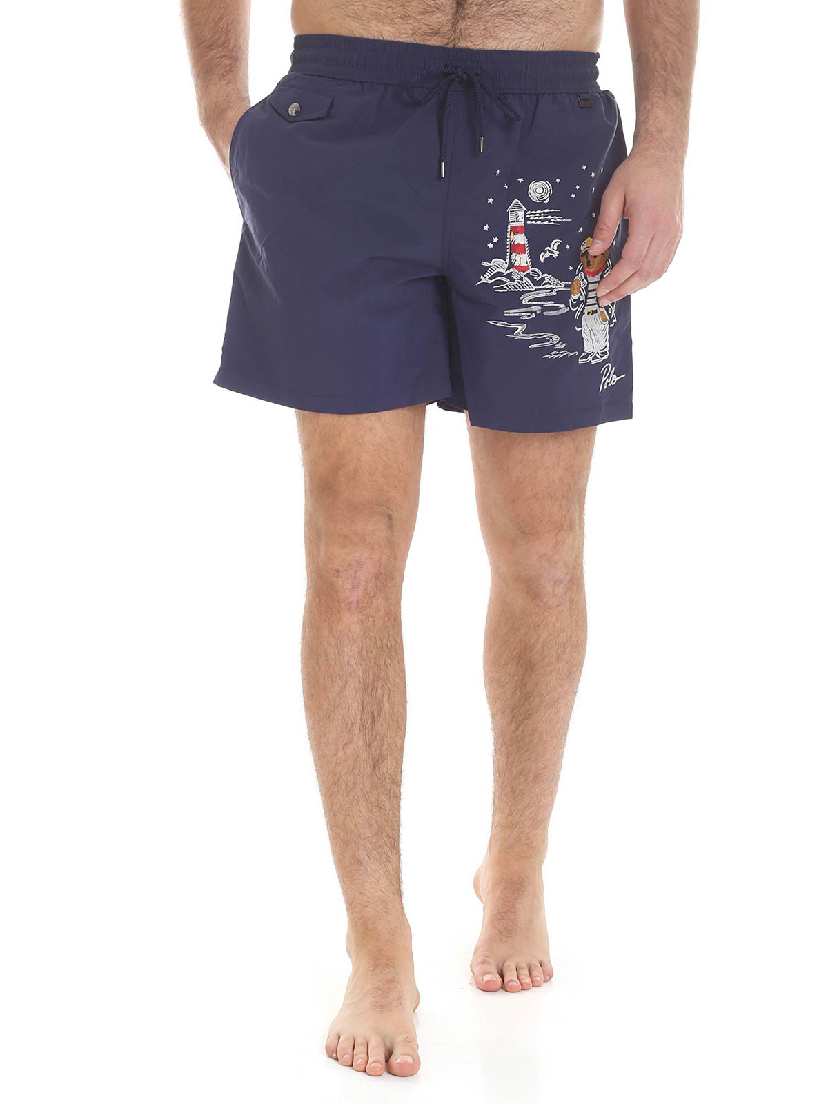 Men's Embroidered Swimming Shorts Lauren Polo Ralph xtCQrhsd