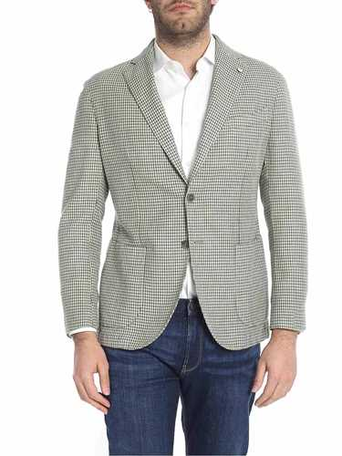 Picture of LBM 1911 | Men's Pied de Poule Blazer