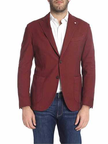Picture of LBM 1911 | Men's Textured Cotton Blazer