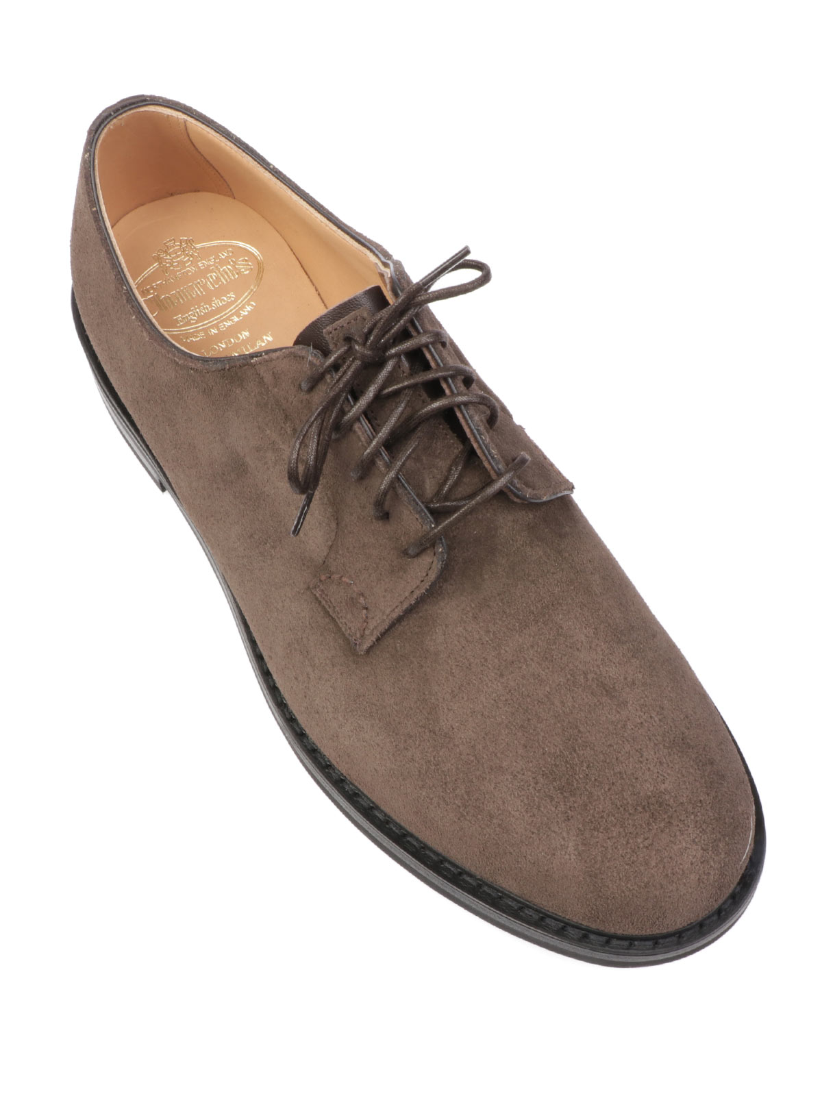 Picture of CHURCH'S | Men's Shannon Castoro Suede Shoe