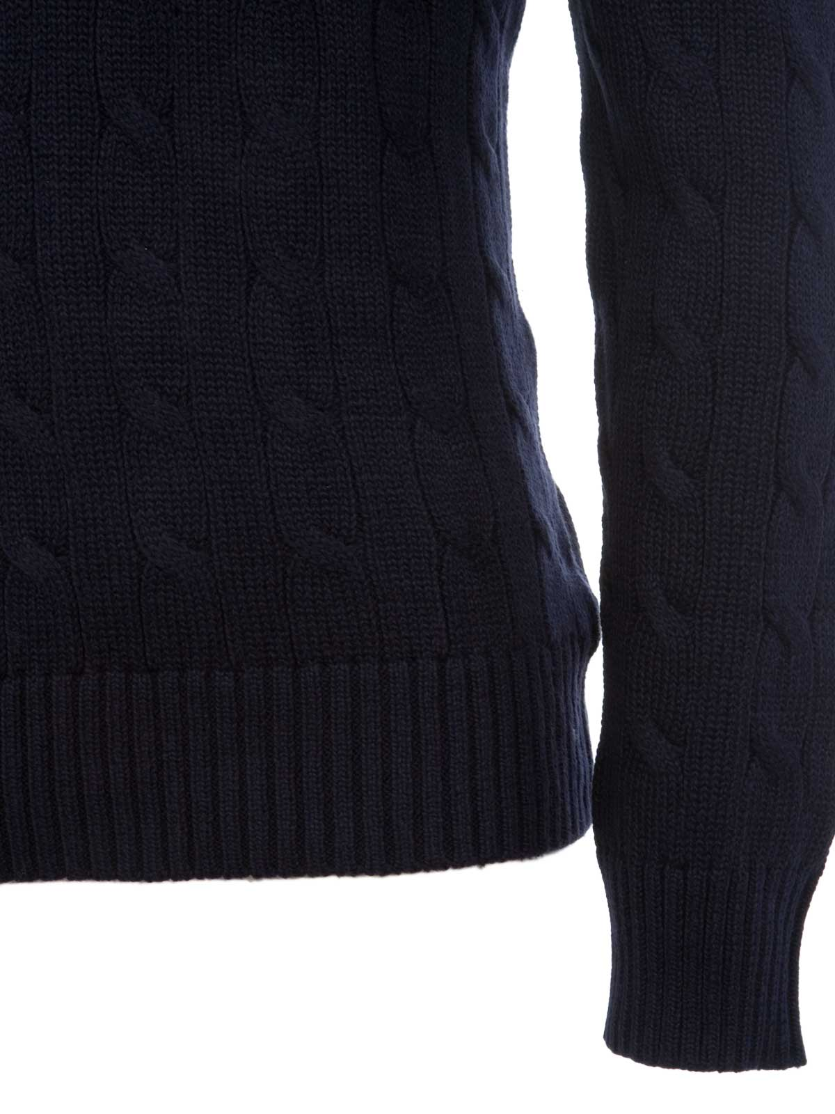 Picture of POLO RALPH LAUREN | Cable-Knit Cotton Sweater