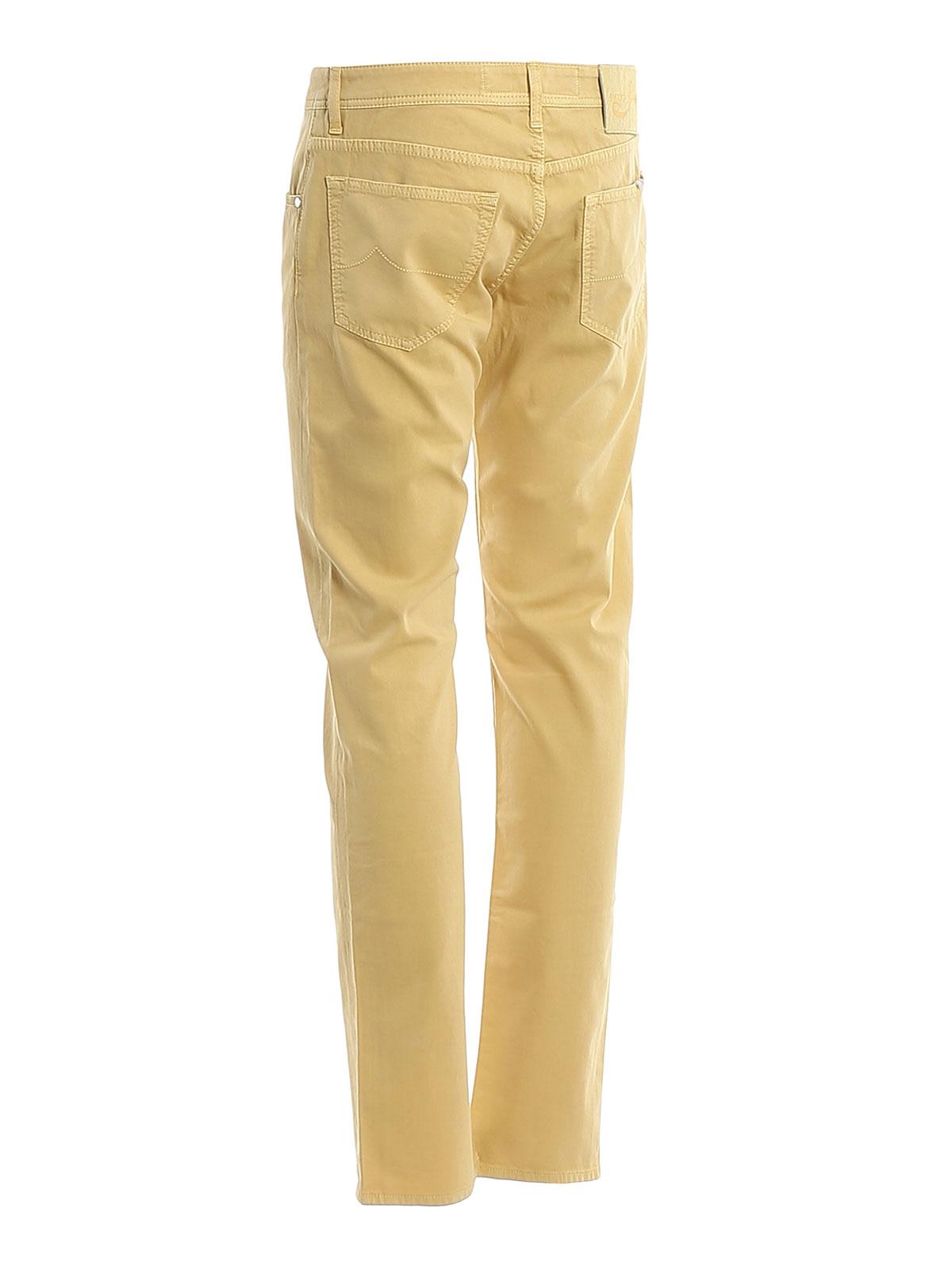 Picture of JACOB COHEN | Men's Style 622 Jacquard Pants