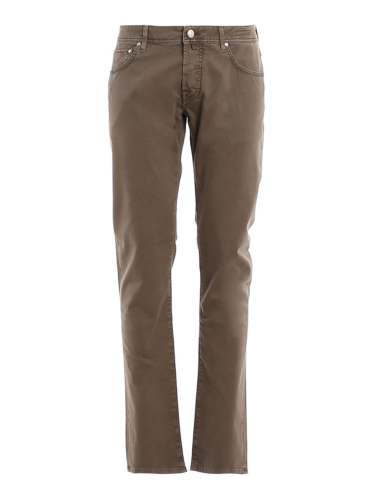 Immagine di JACOB COHEN | Pantaloni Uomo Style 622 Jacquard