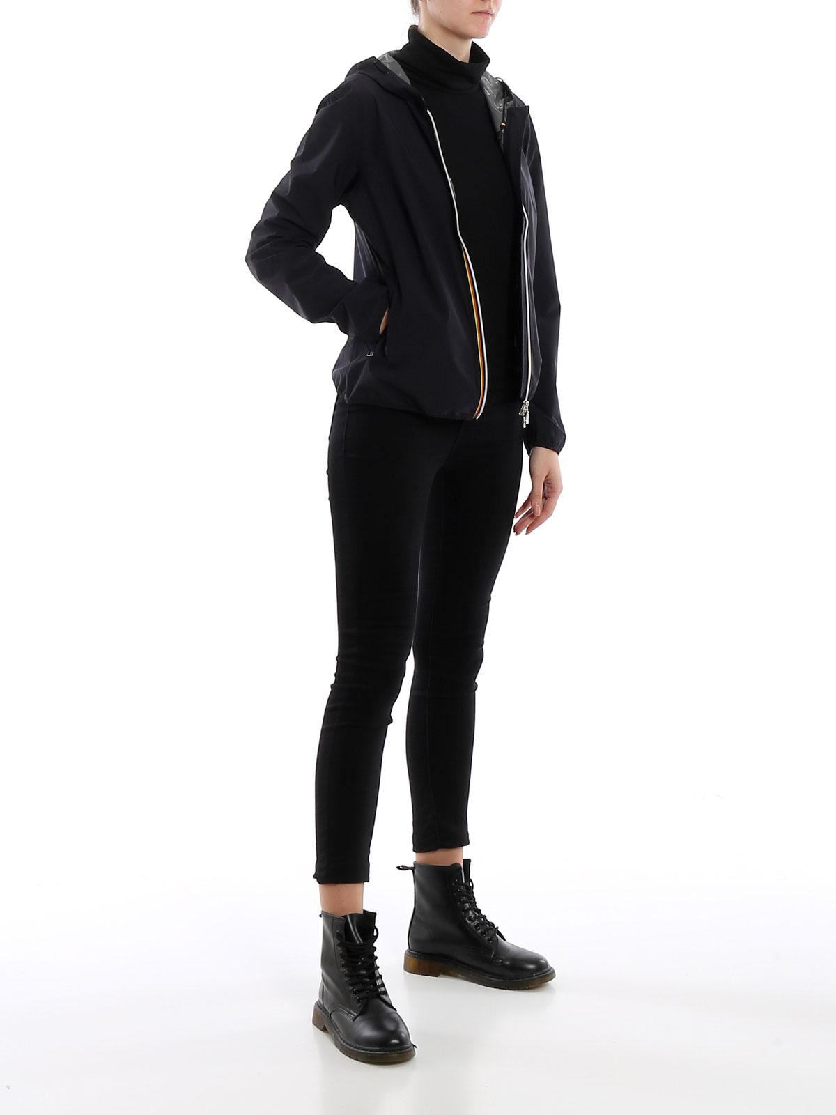 Picture of K-WAY | Women's Lil Nylon Dot Jacket