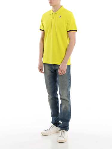 Picture of K-WAY | Men's Vincent Contrast Polo Shirt