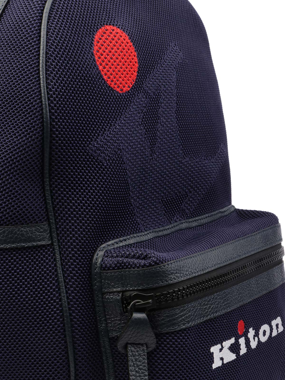 Picture of KITON | Men's Knitted Backpack with Logo
