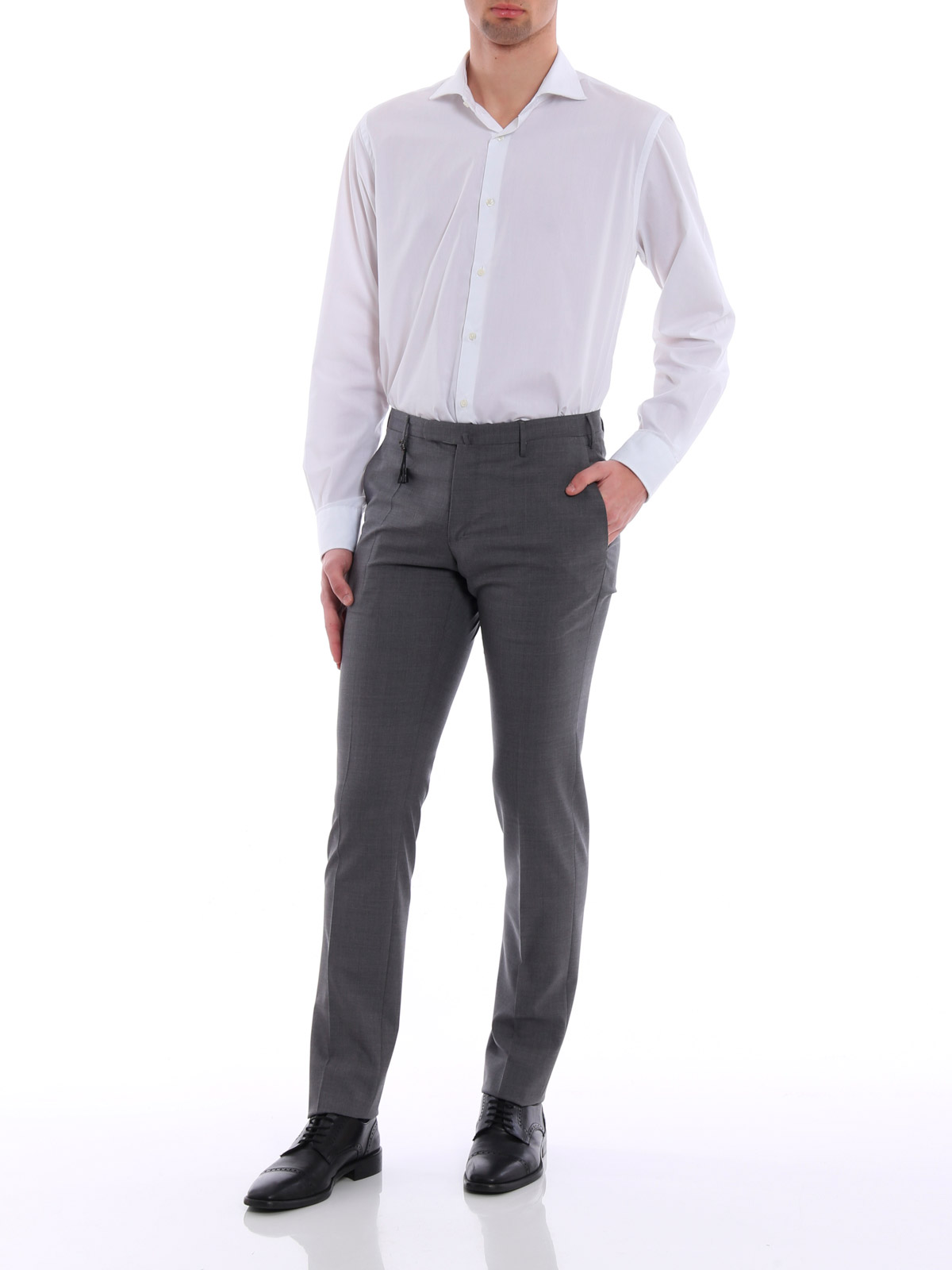 Picture of INCOTEX | TROUSERS PANTALONE