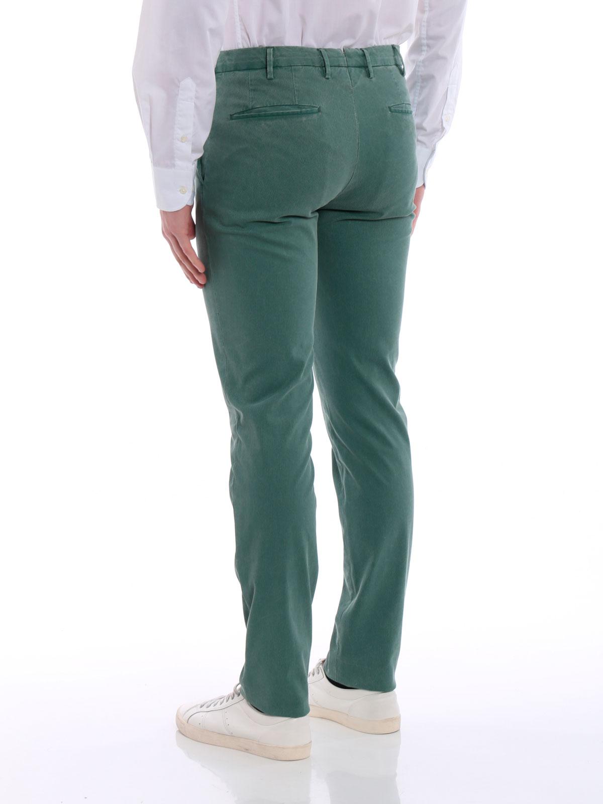 Picture of INCOTEX | Men's Velvet Trousers