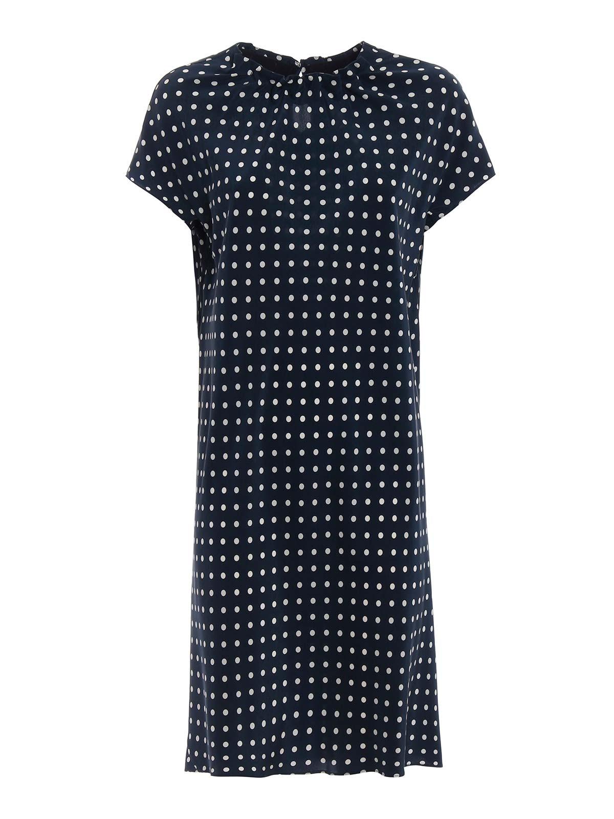 Picture of ASPESI | Women's Polka-dot Dress