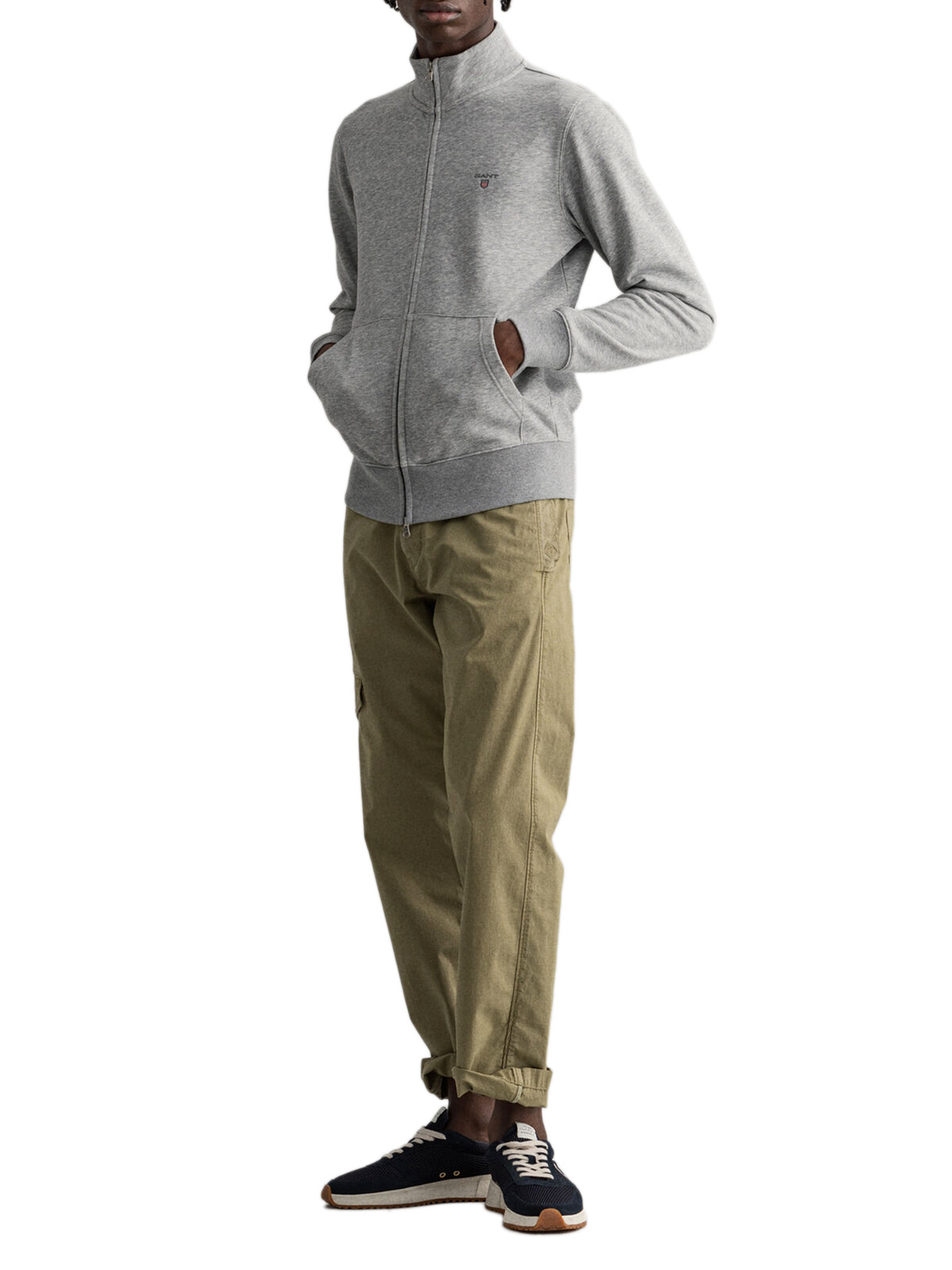 Picture of Gant   Felpe Original Full Zip Cardigan