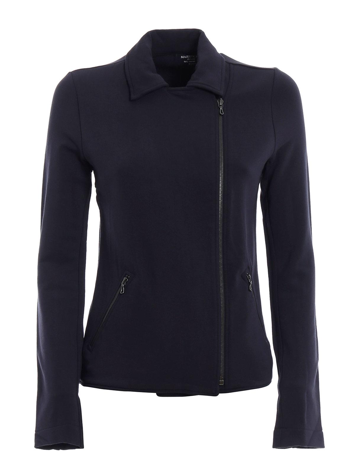 Picture of MAJESTIC FILATURES | Women's Asymmetric Zip Jacket