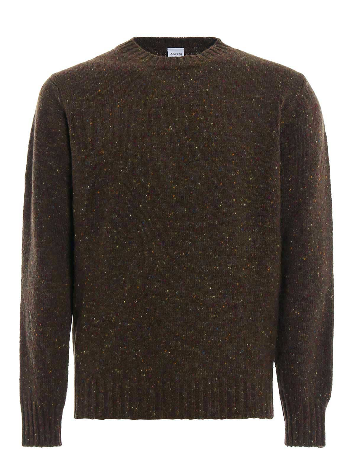 Picture of ASPESI | Men's Pure Wool Crewneck
