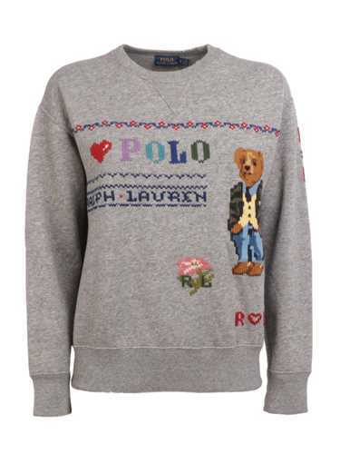 Picture of POLO RALPH LAUREN | Women's Polo Bear Embroidery Sweatshirt
