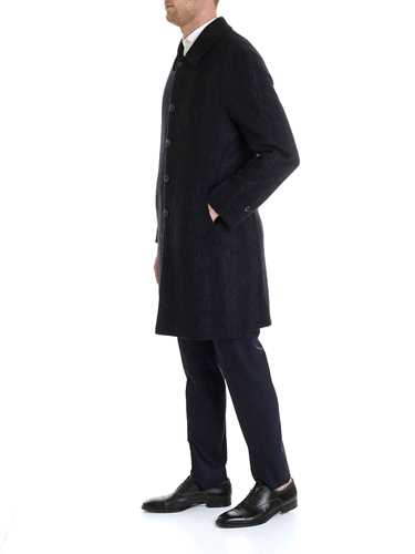 Picture of LUIGI BIANCHI MANTOVA | Men's Wool Single-Breasted Coat