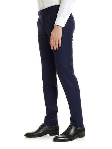 Immagine di LBM 1911 | Pantaloni Uomo in Lana con Pinces
