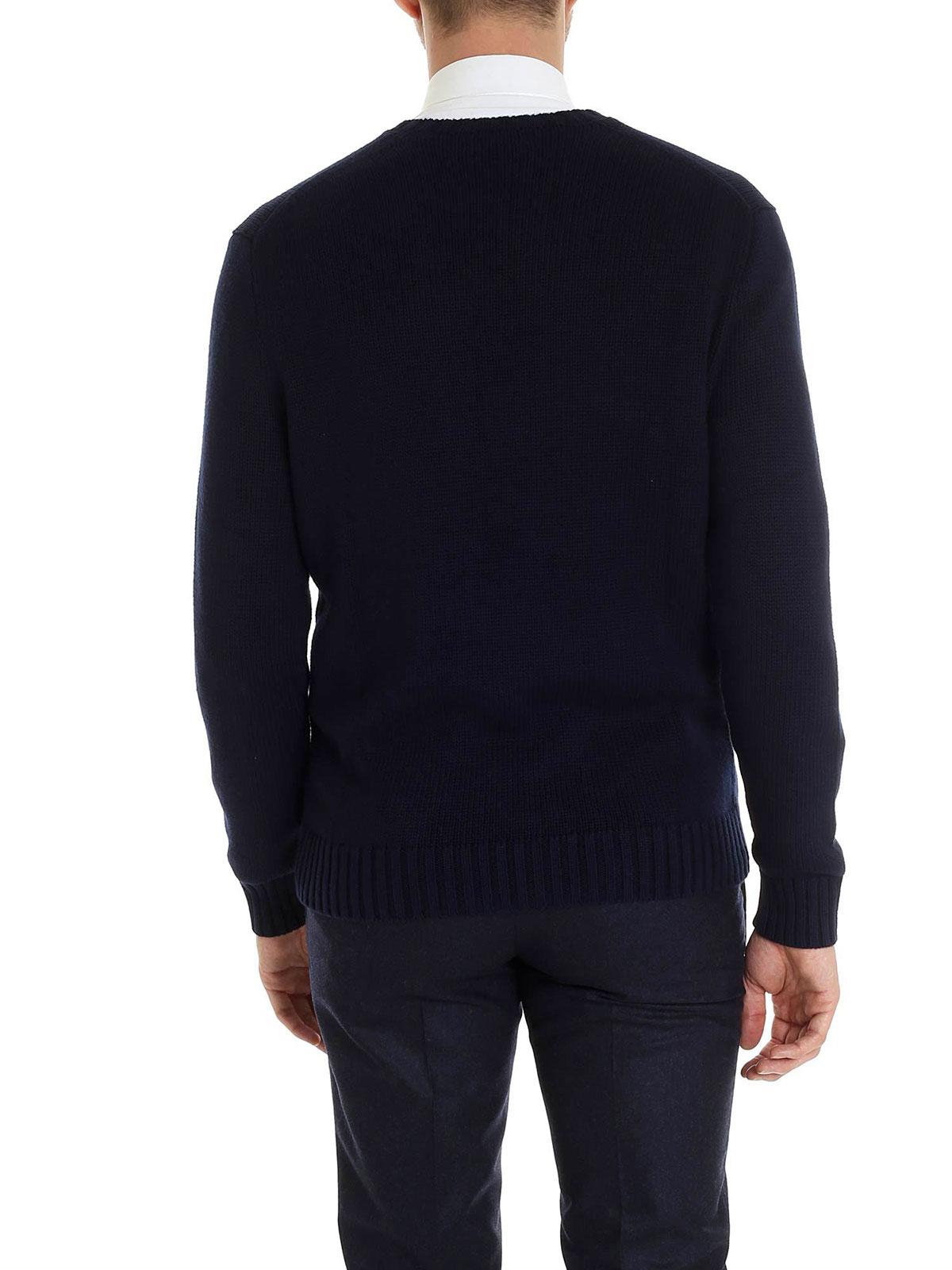 Picture of POLO RALPH LAUREN | Men's Crewneck Cotton Pullover