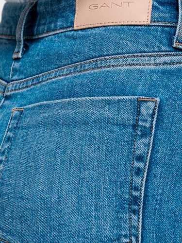 Picture of GANT | SKIRT O1. BLUE DENIM SKIRT