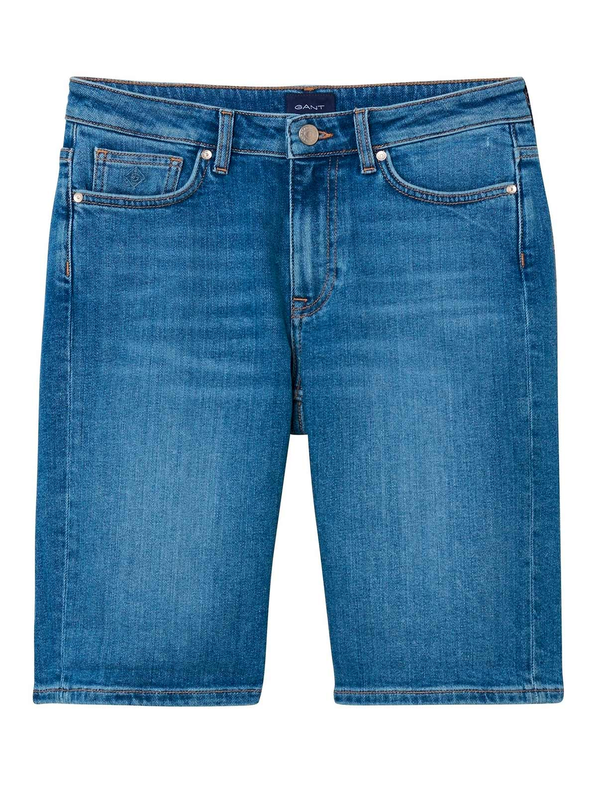 Picture of GANT | Bermuda O1. BLUE DENIM SHORTS
