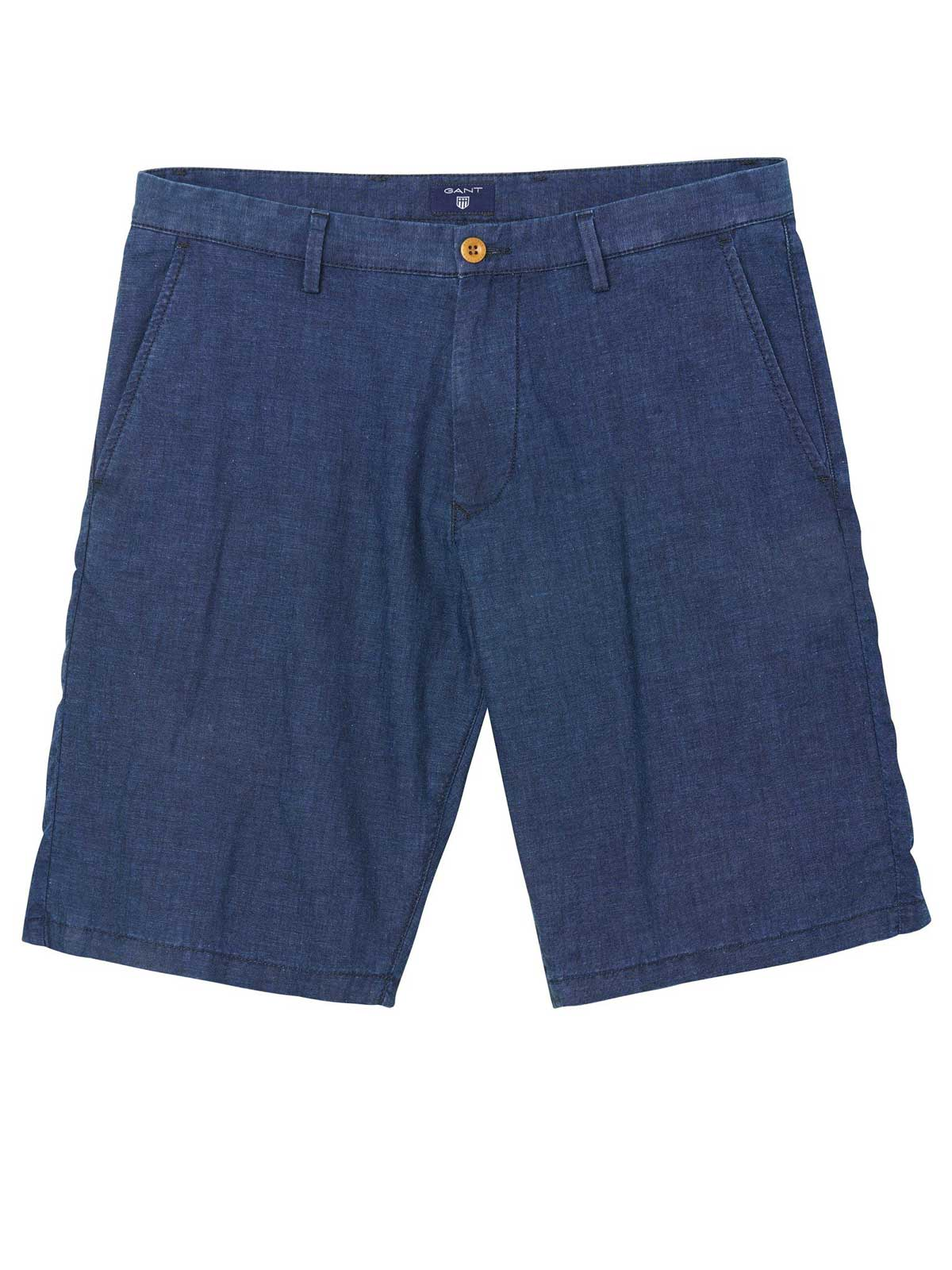 Picture of GANT | Bermuda O2. LOOSE LIGHT INDIGO SHORTS