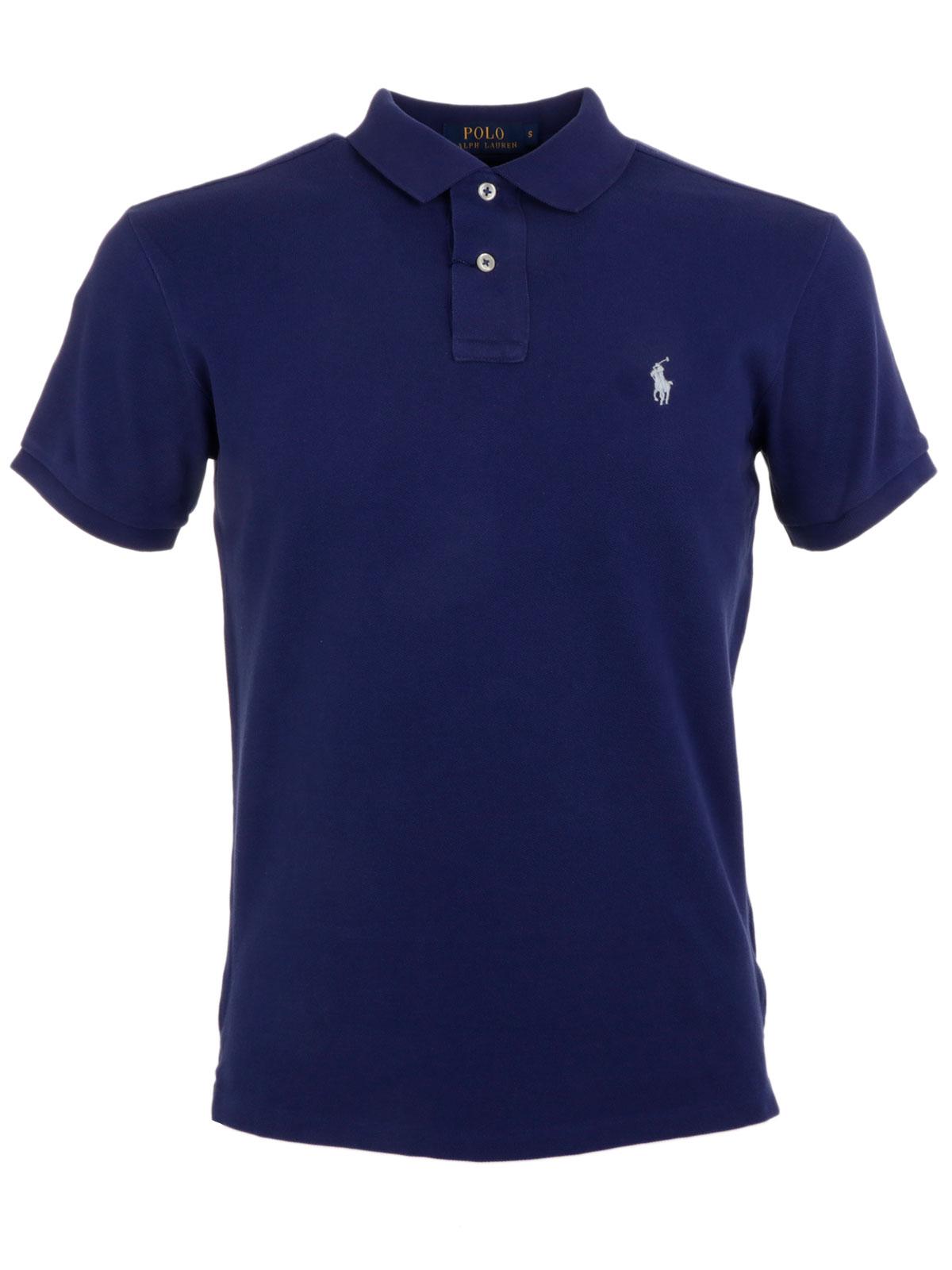 Polo ralph lauren men 39 s custom fit polo shirt xw7m3 for Polo ralph lauren custom fit polo shirt