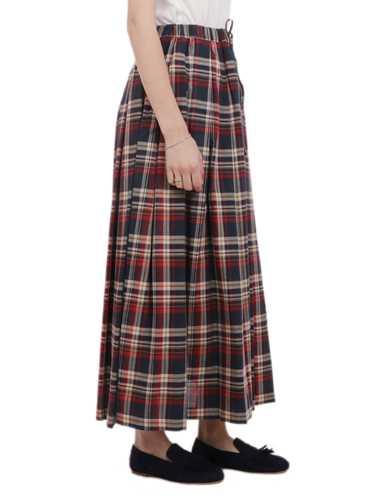 Picture of ASPESI | Women's Long Pleated Skirt