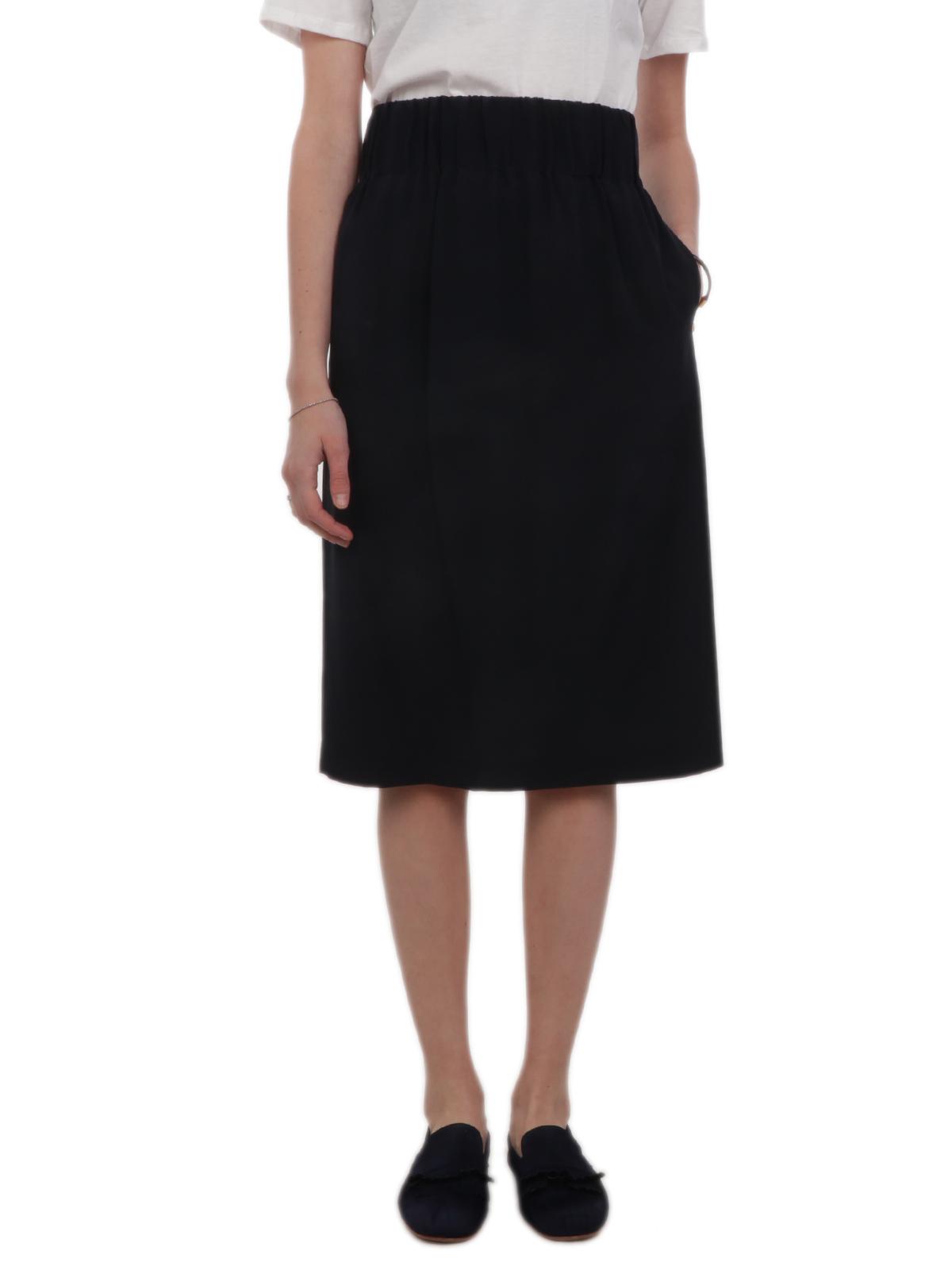 Picture of ASPESI | Women's Silk Tube Skirt